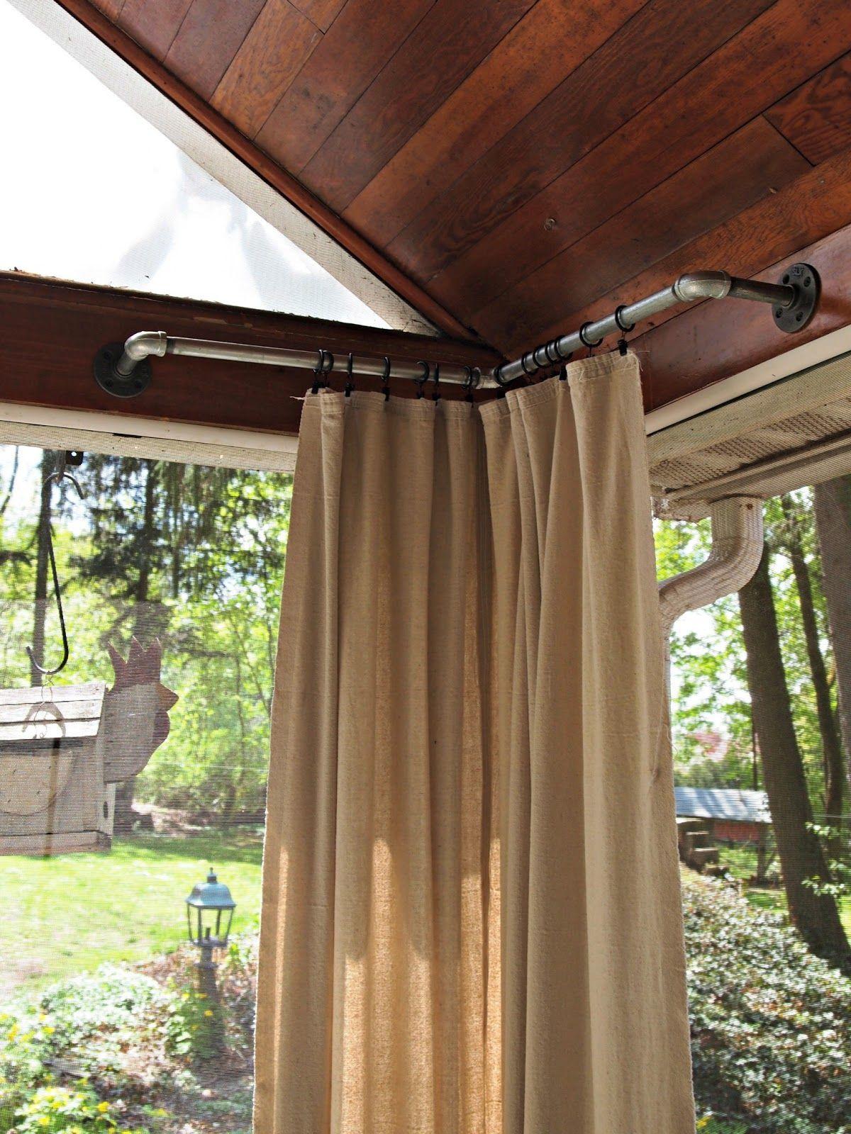Outdoor curtains pergola - Outdoor Curtains