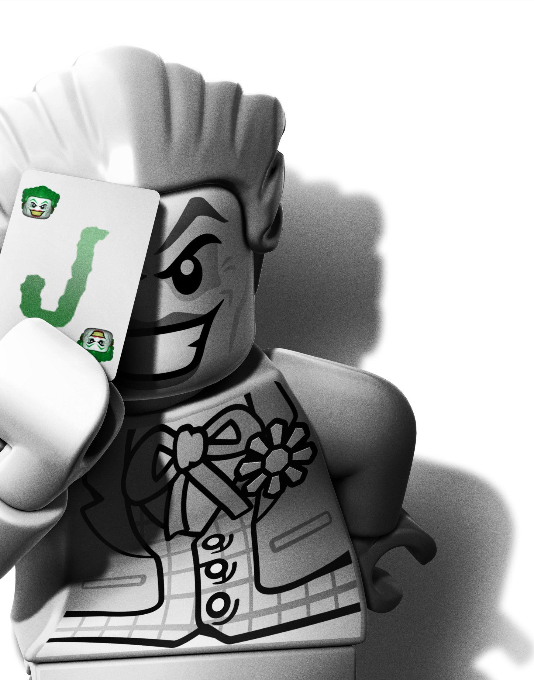 Beau Dessin A Imprimer De Lego Batman 2