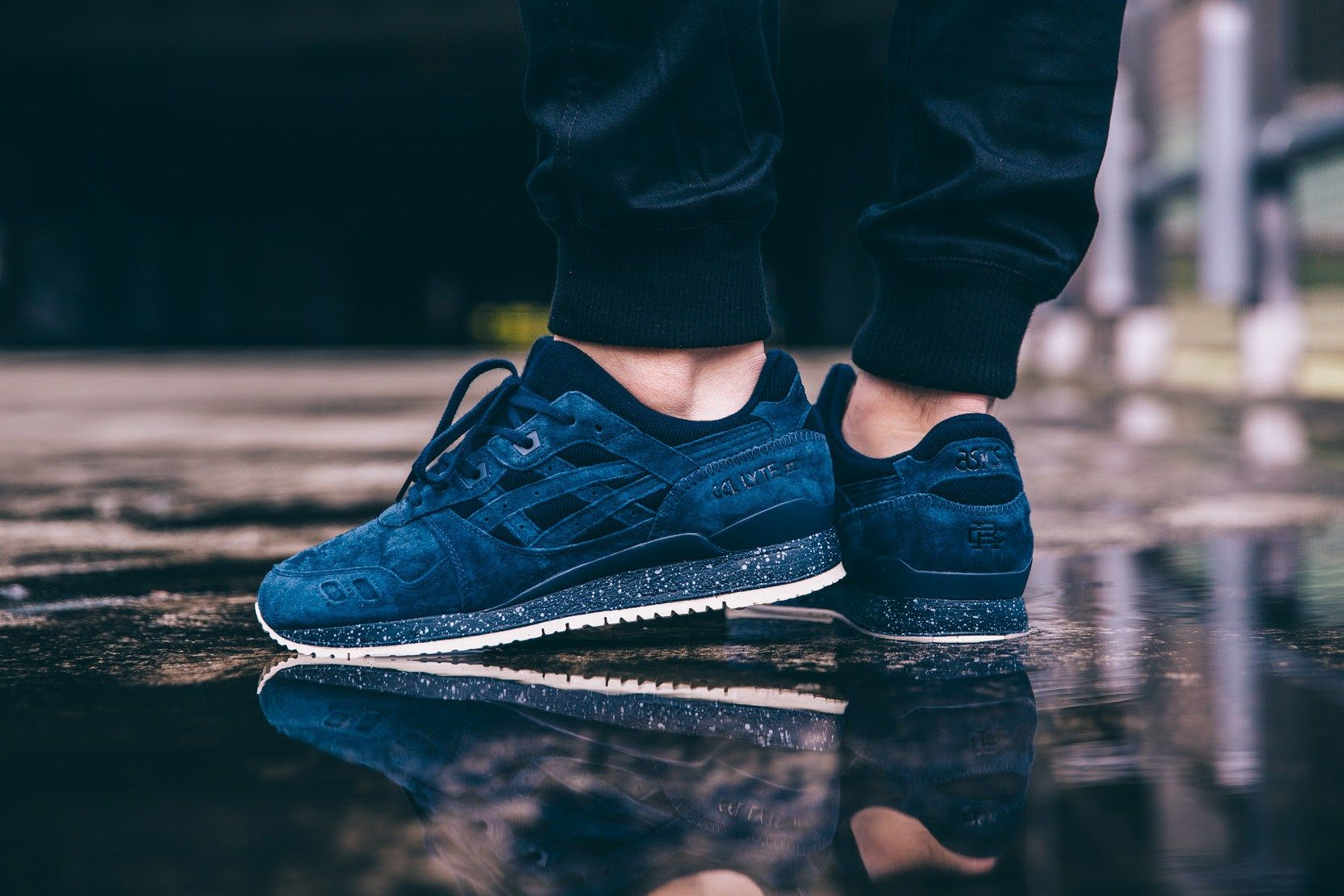 0aea76b9609f A Closer Look at the ASICS Tiger x Reigning Champ GEL-Lyte III Collaboration
