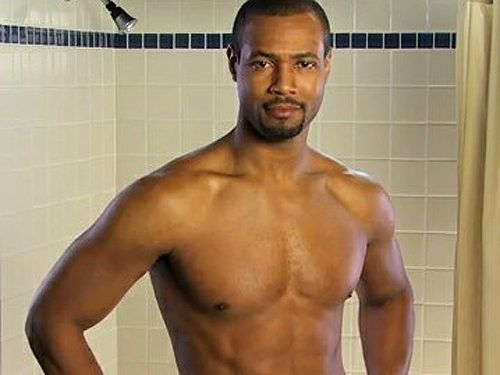 Isaiah Mustafa could show up in my shower any day.