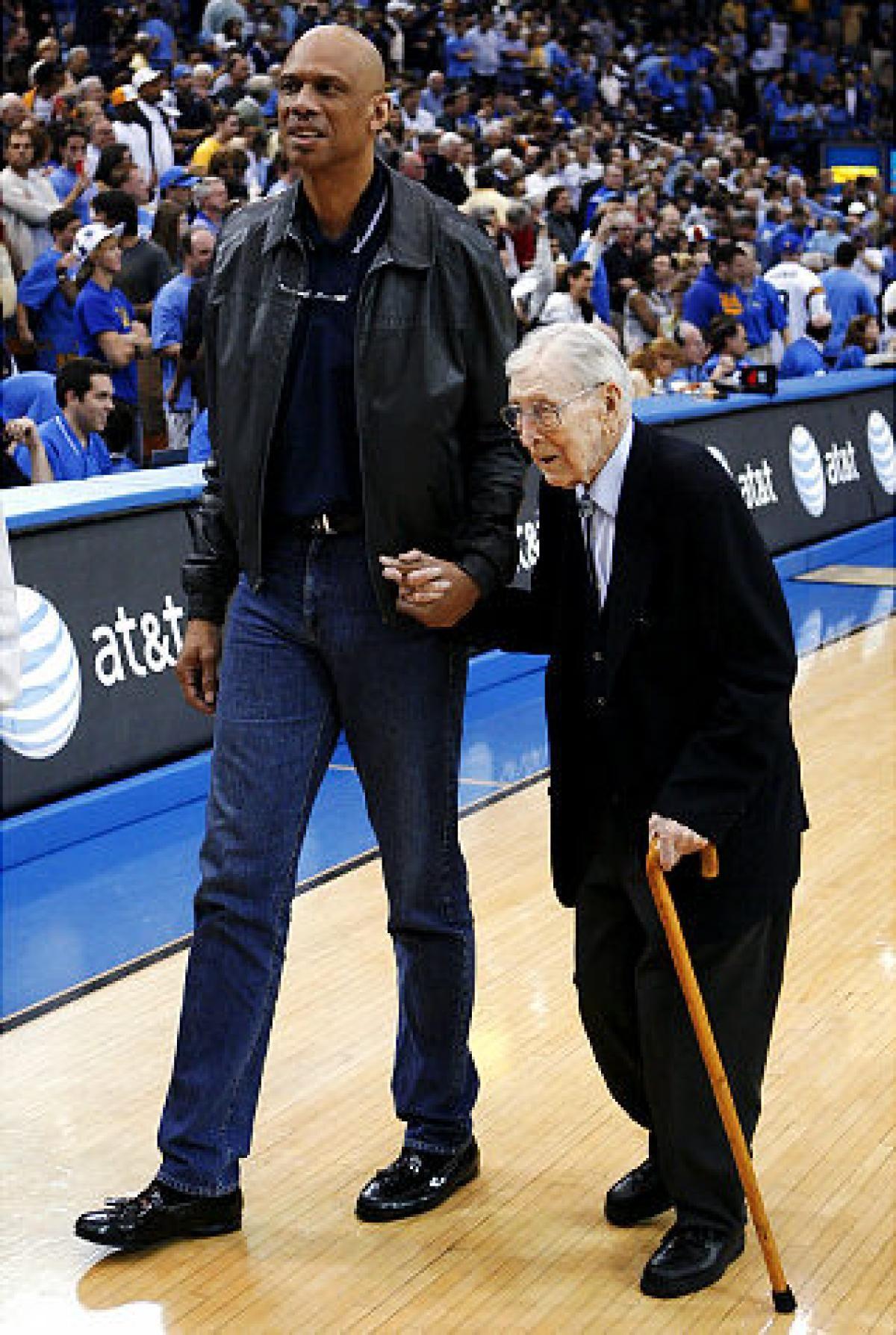 097dd98bc4a Legendary UCLA basketball coach John Wooden dies at 99 - slide 3 ...
