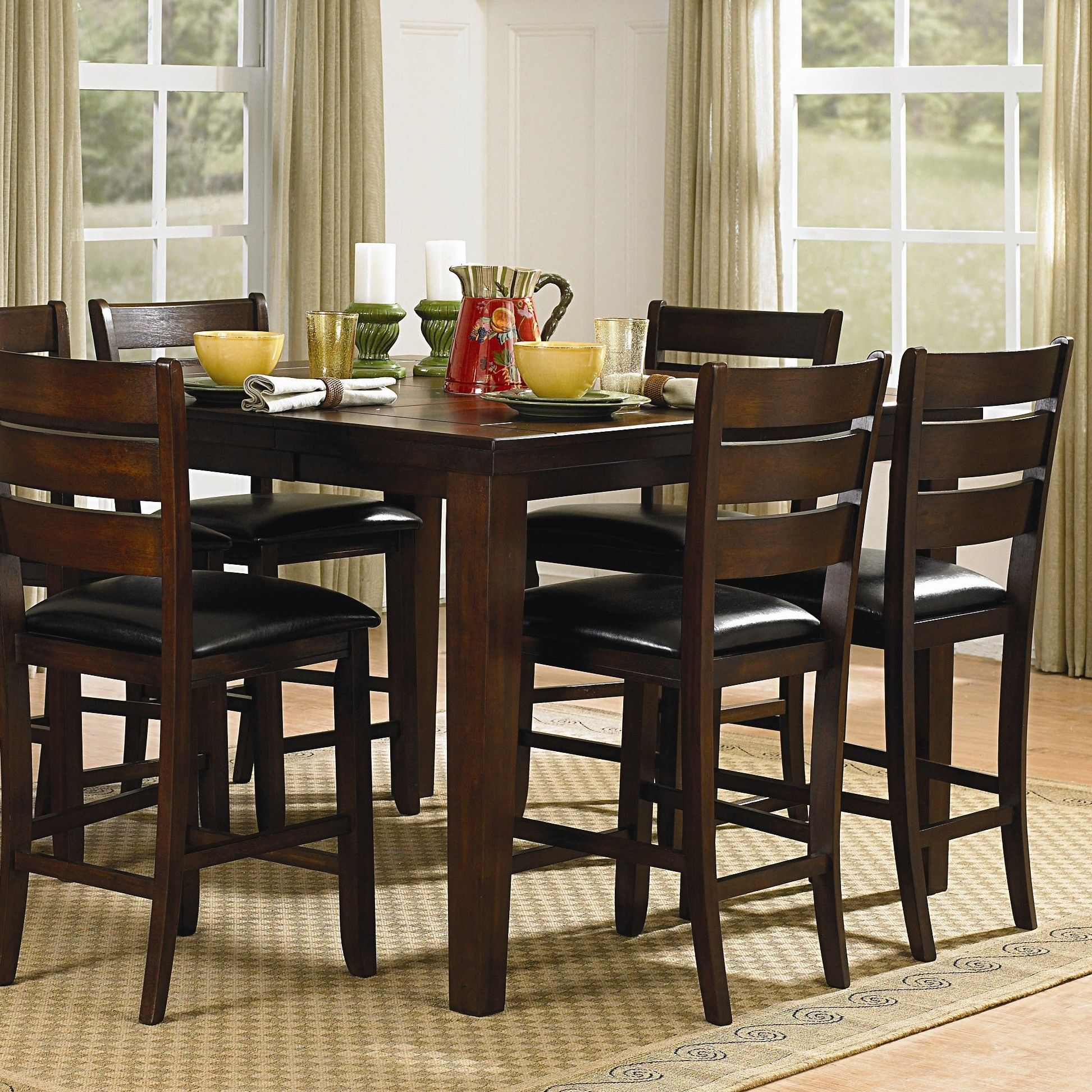 Ameillia Sq Counter Height Table | Counter height dining ...