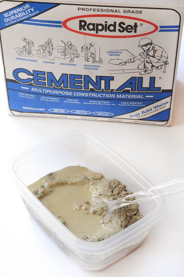 Cement crafts pinterest cement and craft for Craft cement mix