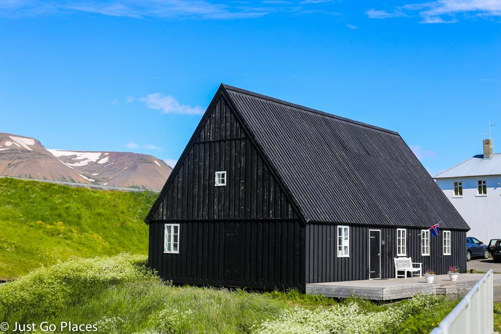 How Iceland Made Corrugated Steel Construction Charming Entrance Gates Design Island House Tin Shed