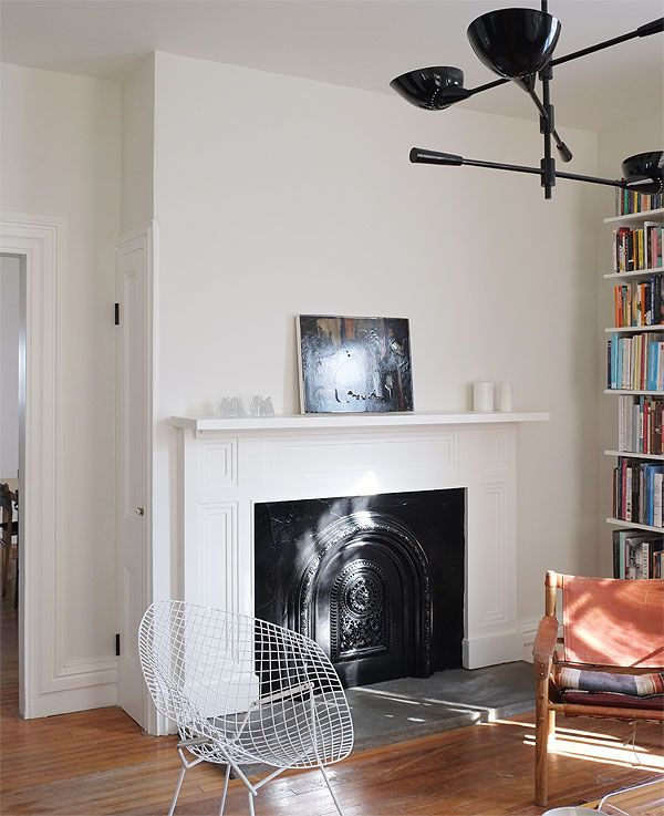 Simply White Living Room Ideas: Walls: Benjamin Moore Soft Chamois (flat) Ceiling/moldings