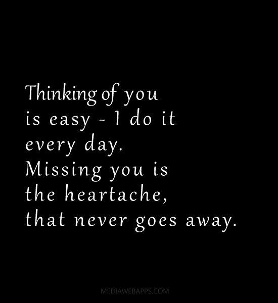Pinterest Thinking Of You Quotes: I Do It Every Day. Missing You