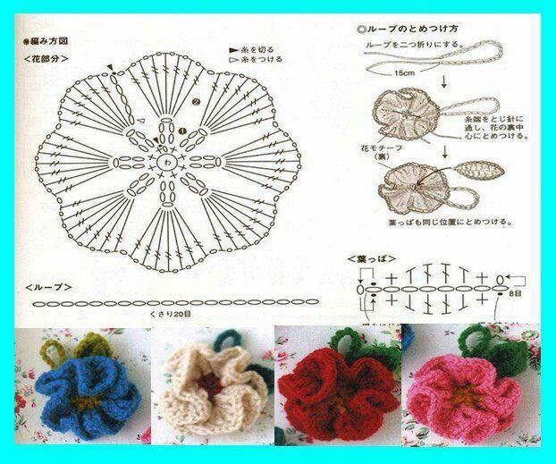 Flor de crochê: nunca é demais