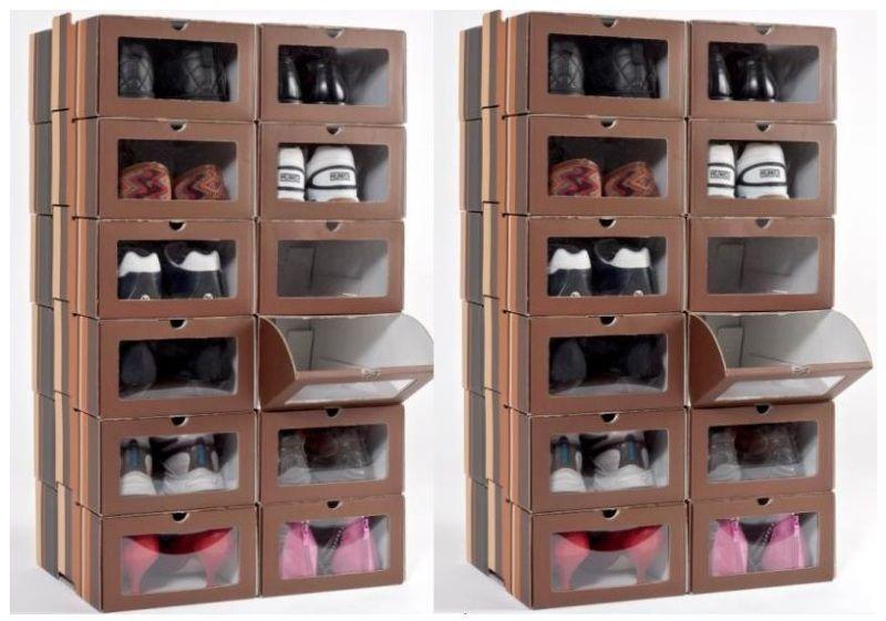 Set 50 Cajas De Zapatos Cajas Caja De Zapatos Manualidades