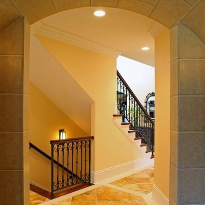 Open Basement Stair Design Ideas Pictures Remodel And