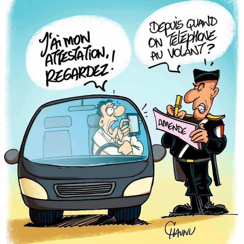 Chaunu 2020 04 06 France Attestation De Deplacement A Retrouver Demain Dans Ouestfrance A Caricature Drole Images Droles De Bande Dessinee Caricature