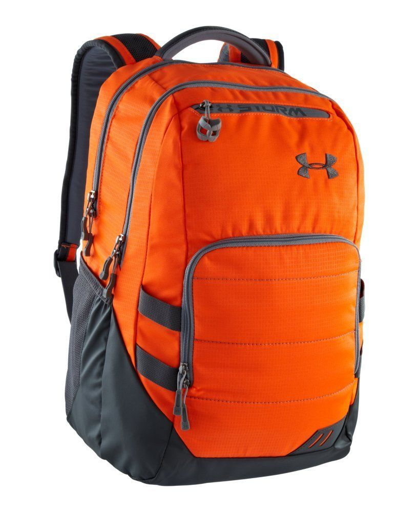 942bb4b3dc Amazon.com  Under Armour UA Camden Storm Backpack One Size Fits All Blaze  Orange  Sports   Outdoors