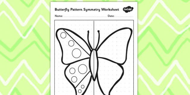Pre School Worksheets : pattern symmetry worksheets ks1 Pattern ...