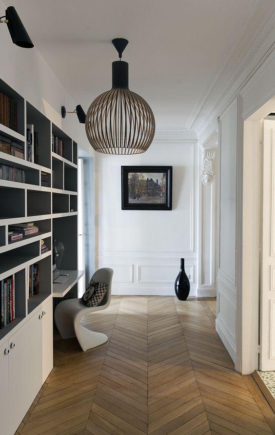 10 idées pour aménager son couloir Source  GCG Architectes Entrée