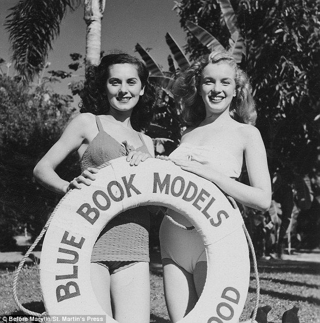 Marilyn Monroe's early modelling career is revealed in new book #hollywoodicons