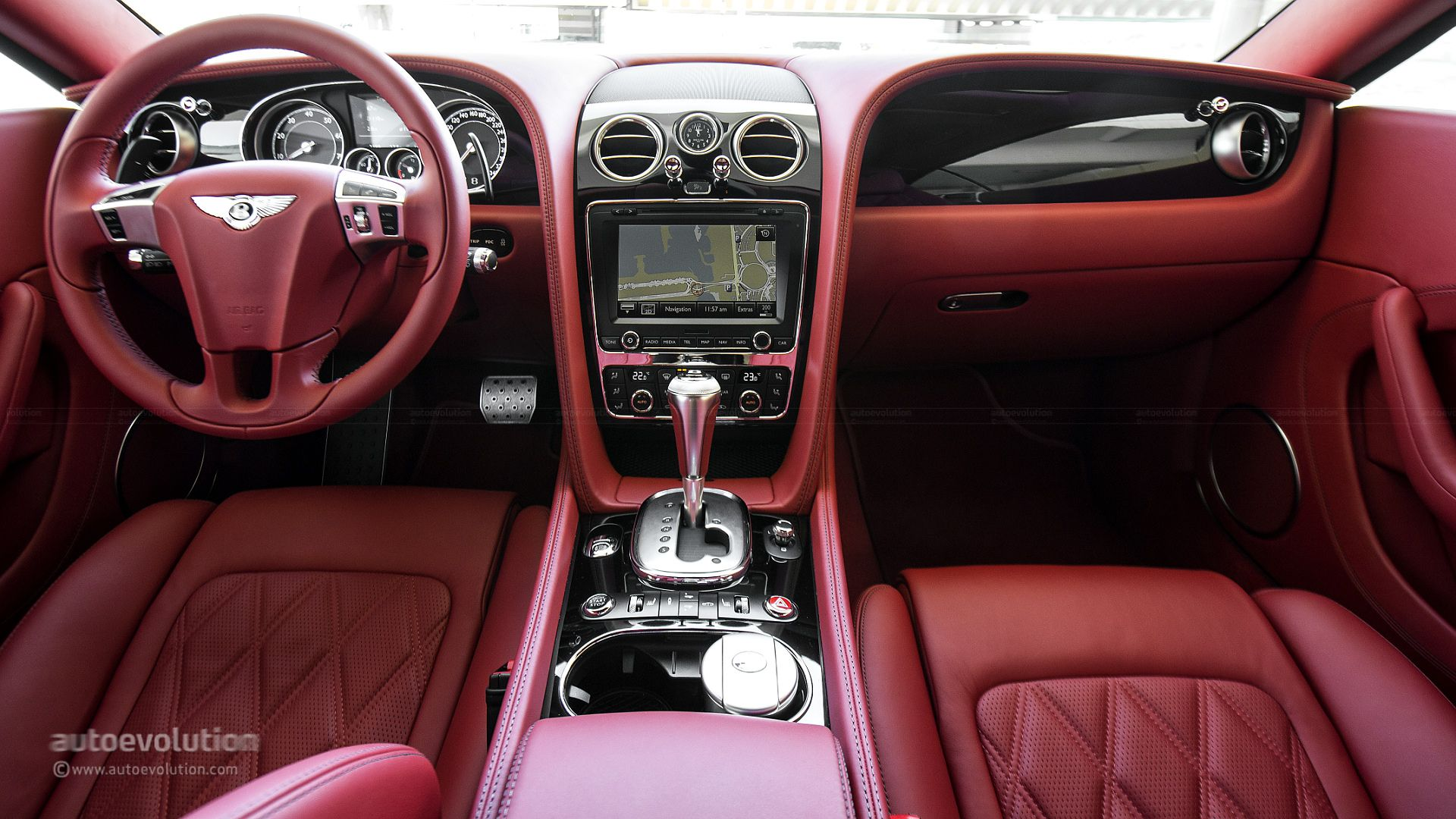 Bentley continental gt w12 review autoevolution - Bentley Continental Gt V8 Dashboard