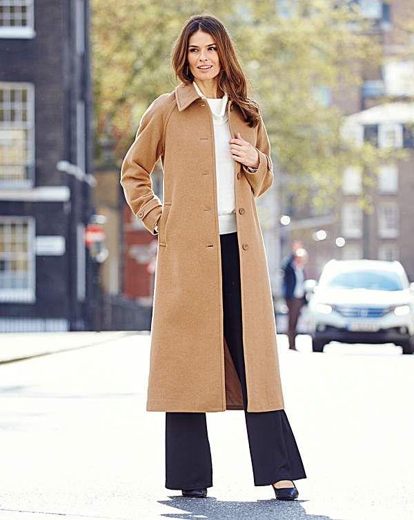 Nightingales Longline Coat Length 47in