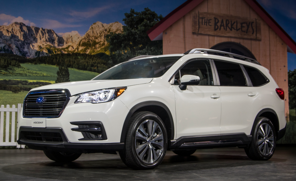 2019 Subaru Ascent | Large suv, Subaru suv, Honda pilot