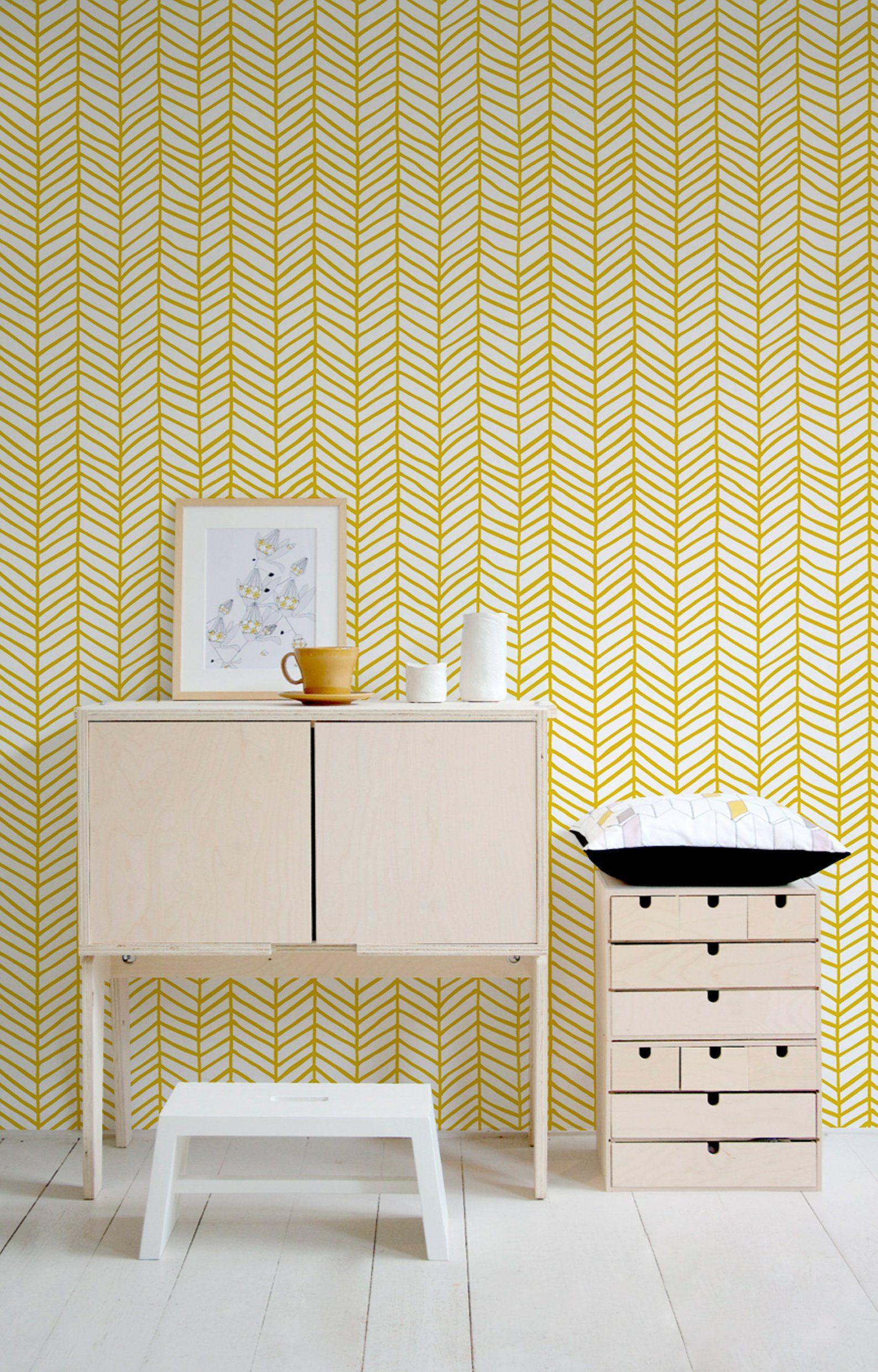 Chevron Wallpaper Removable Wallpaper Herringbone Wallpaper Etsy Herringbone Wallpaper Removable Wallpaper Chevron Wallpaper