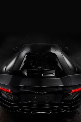 Lamborghini Aventador Black Iphone 6 Wallpaper Coole Autos Autos