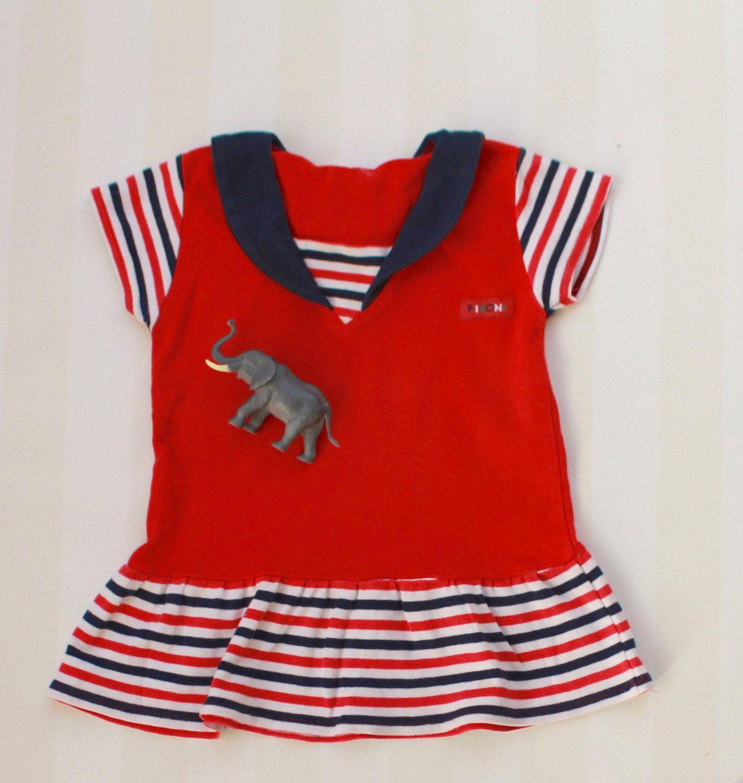 Red dress toddler girl 0n