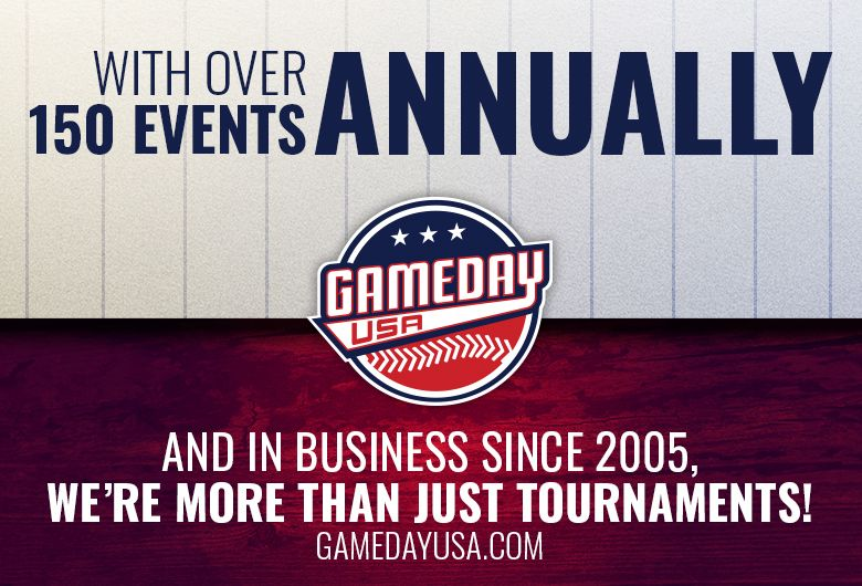 Game Day Usa Tournaments In 2020 Baseball Tournament Tournaments Softball Tournaments