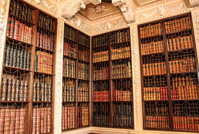 A Day At Blenheim Palace Woodstock England Open Bookcase Bookcase Low Bookcase