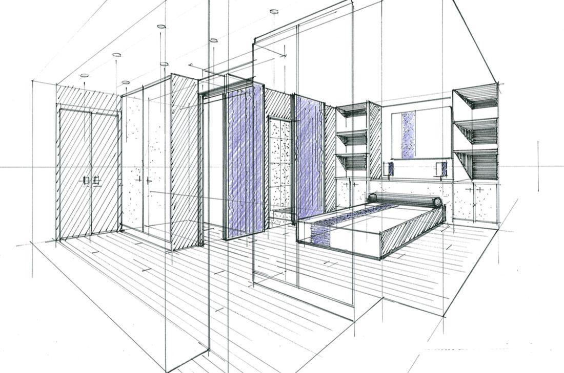 Ecole D Architecture D Interieur Nice esquisse en architecture d'intérieur philippe ponceblanc en 2020
