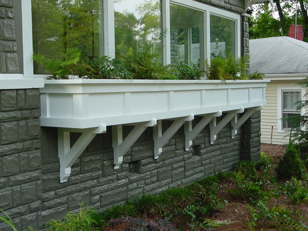 Extra Large Window Box Designed By Heather Moll Dunn Landscape And