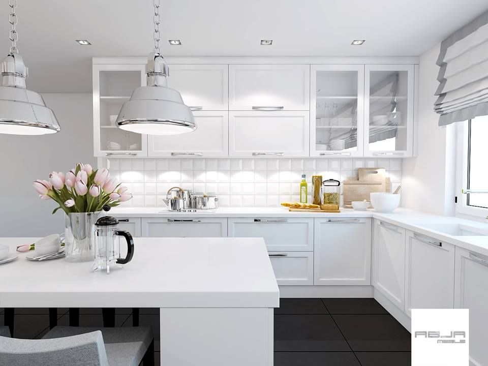 Realizacje Meble Na Wymiar Lublin Producent Mebli Na Wymiar Abja Kitchen Home Decor White Kitchen