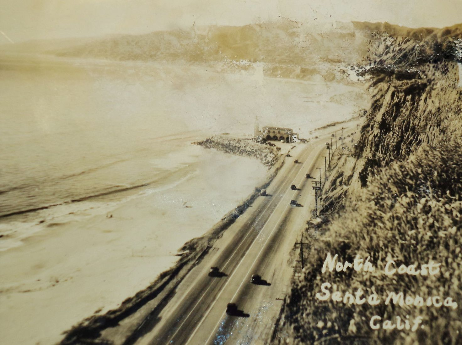Lighthousepacific palisadescalifornia vintage los