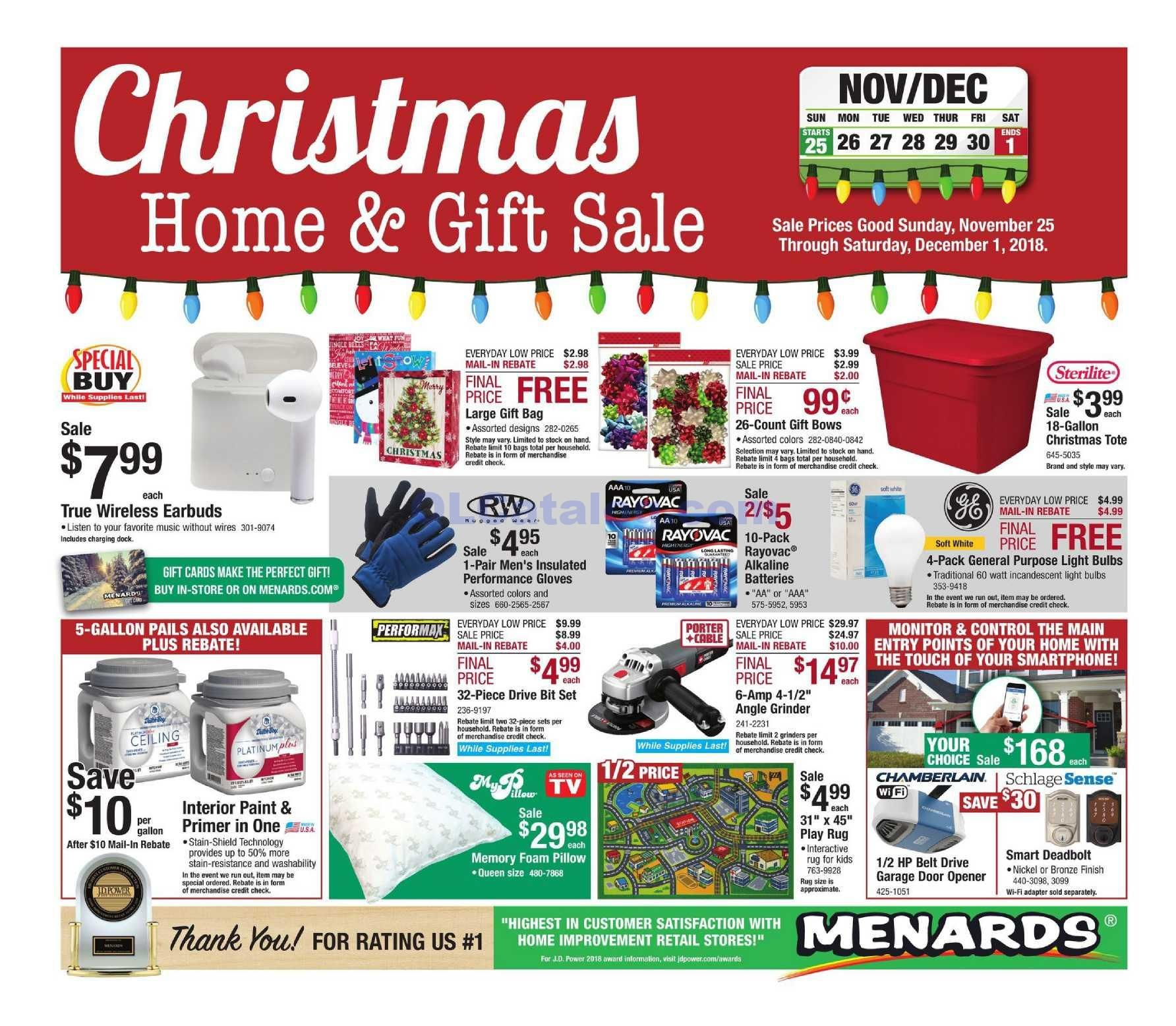 Menards Weekly Ad Mar 15 Mar 21 2020 Sneak Peek Preview