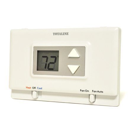 Totaline P474 0130 Non Programmable 1 Heat 1 Cool Thermostat By Totaline 27 35 Totaline P474 0130 Non Programmable Battery Operated Thermostat 1 Heat 1 C