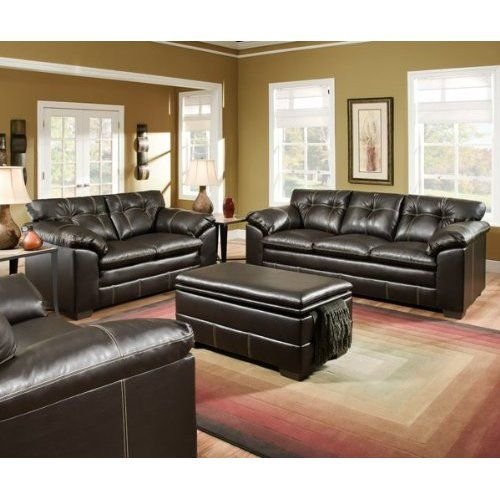 Tremendous Simmons Leather Sofa And Loveseat Frankydiablos Diy Chair Ideas Frankydiabloscom