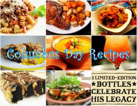 Celebrating The True Discovery Of Columbus Day Holiday Knight Columbus Day Holiday Recipes Foodie
