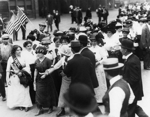 Women Of The Industrial Workers Of The World March To Madison