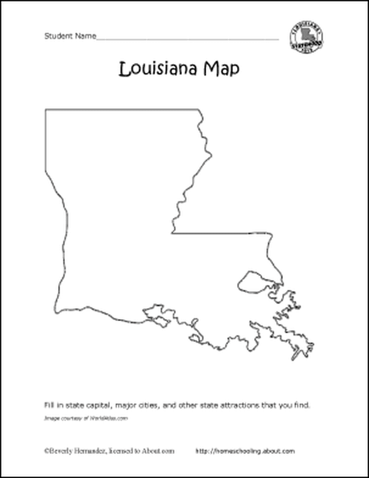 Learn About Louisiana With Free Printables! | Clothes, shoes, etc ...