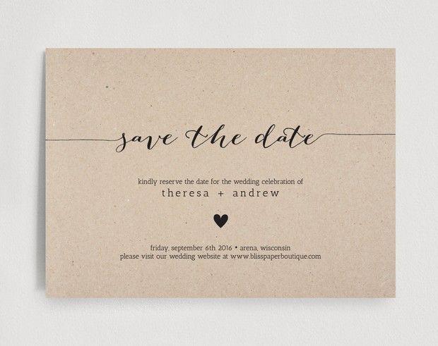 15 Save the Date Cards to Send Soon WEDDINGideas Wedding