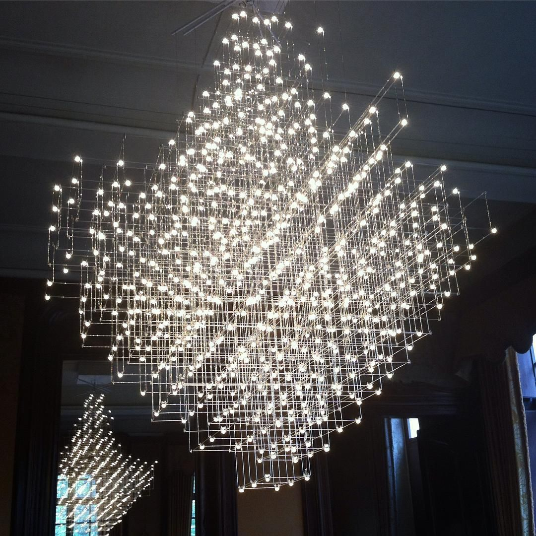 Luminaire Lighting Lustre Respirant Breathing Chandelier 2014 Jan Pauwels