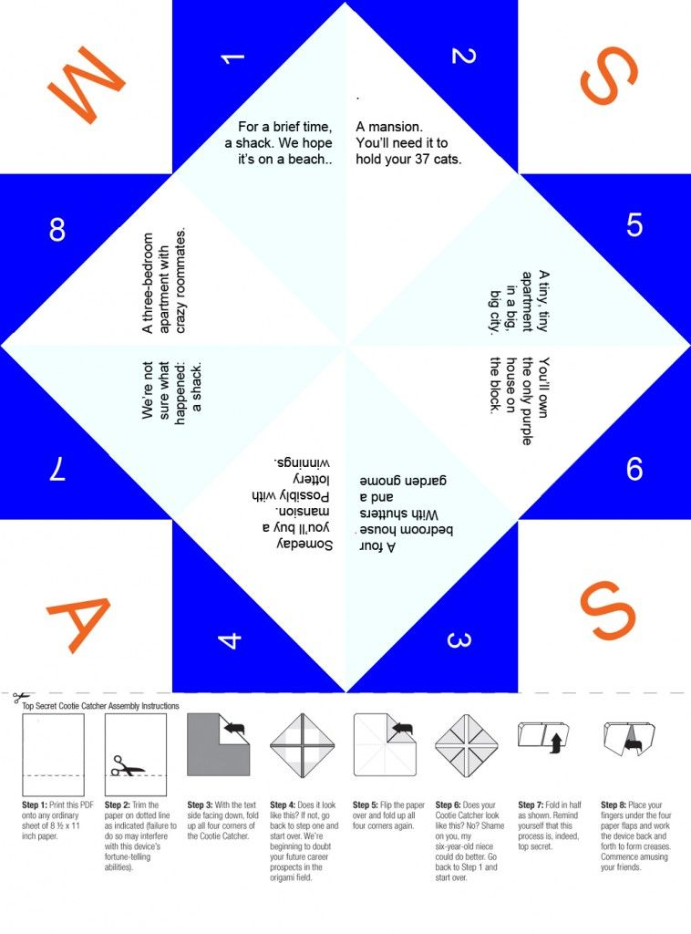 Paper Fortune Teller Ideas Funny : paper, fortune, teller, ideas, funny, Unavailable, Fortune, Teller, Paper,, Paper, Games, Kids,
