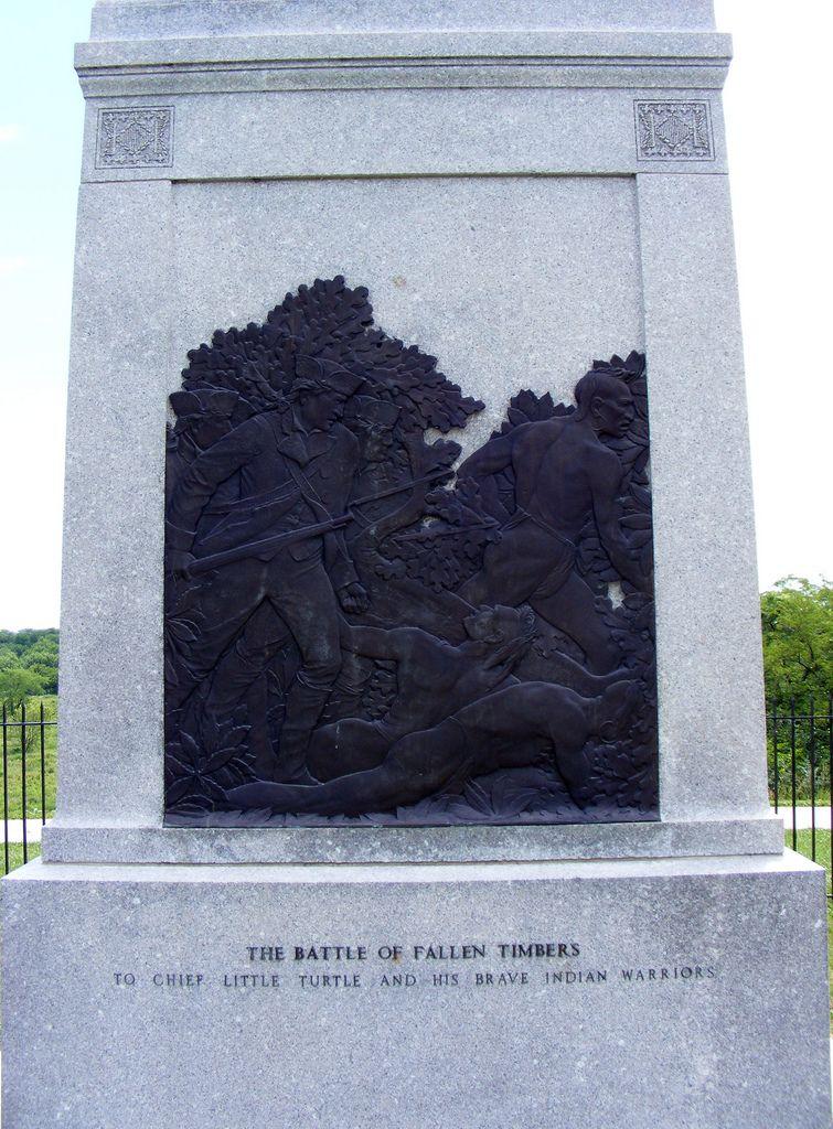 Chief Little Turtle Native American History Battle Of Fallen