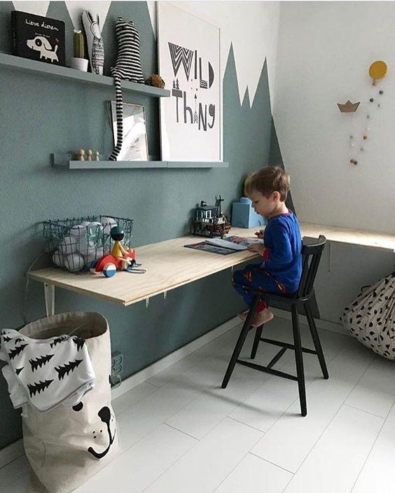 Bureau Enfants Fait Maison Minilearners Via Nat Et Nature
