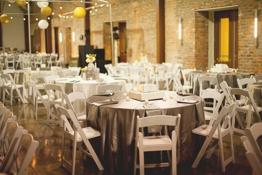 Mt Holly Citizen S Center The Grand Hall Wedding Reception White Folding Chairs