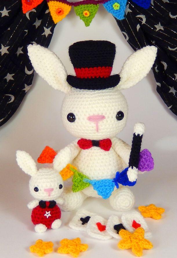 Zauber-Bunny mit vielen Details und schön ins Bild gesetzt - sehr ...