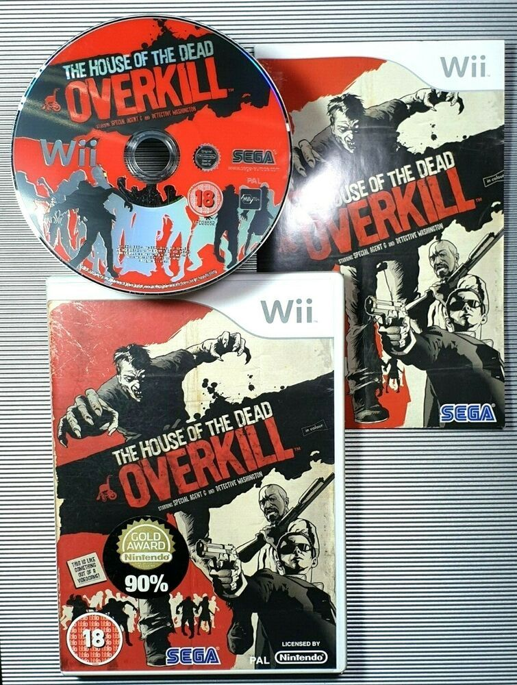 The House Of The Dead Overkill Wii Games Wii Nintendo Wii