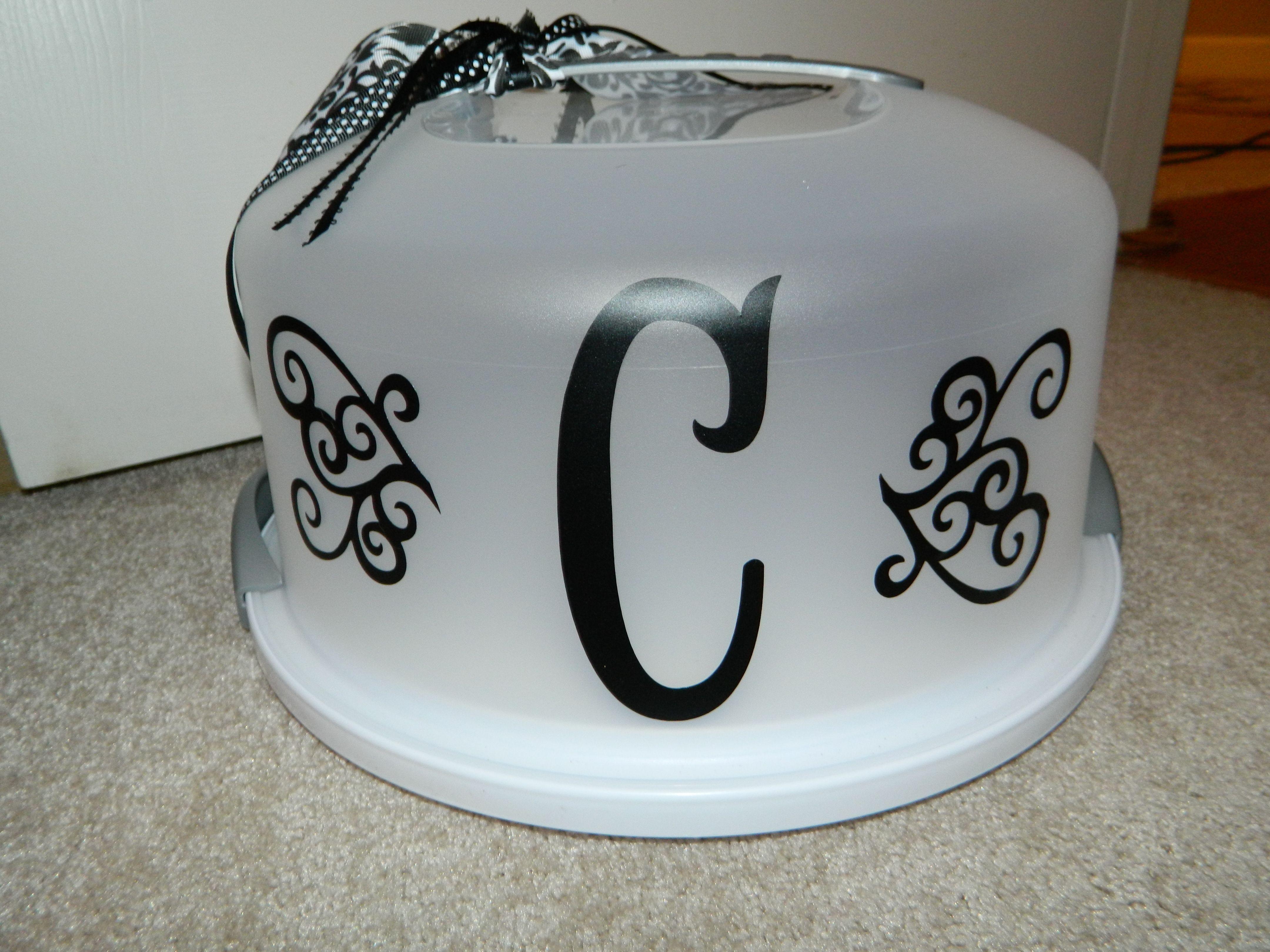 Cake Carrier Target Vinyl On Cake Carrier  Svg And Cricut Stuff  Pinterest  Cake