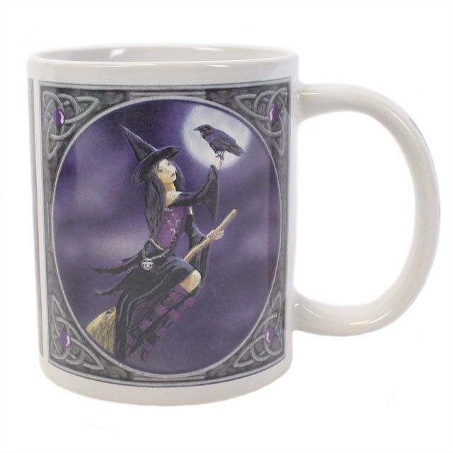 Wholesale Witch with raven mug - Something Different