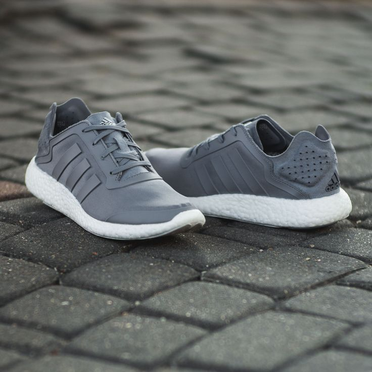 adidas Pure Boost: Grey