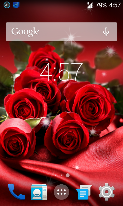 Roses Live Wallpapers For Android 444 Kitkat Phones Tablets