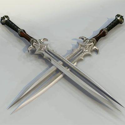 DeviantArt: More Like Double Bladed Sword by Lockencopp