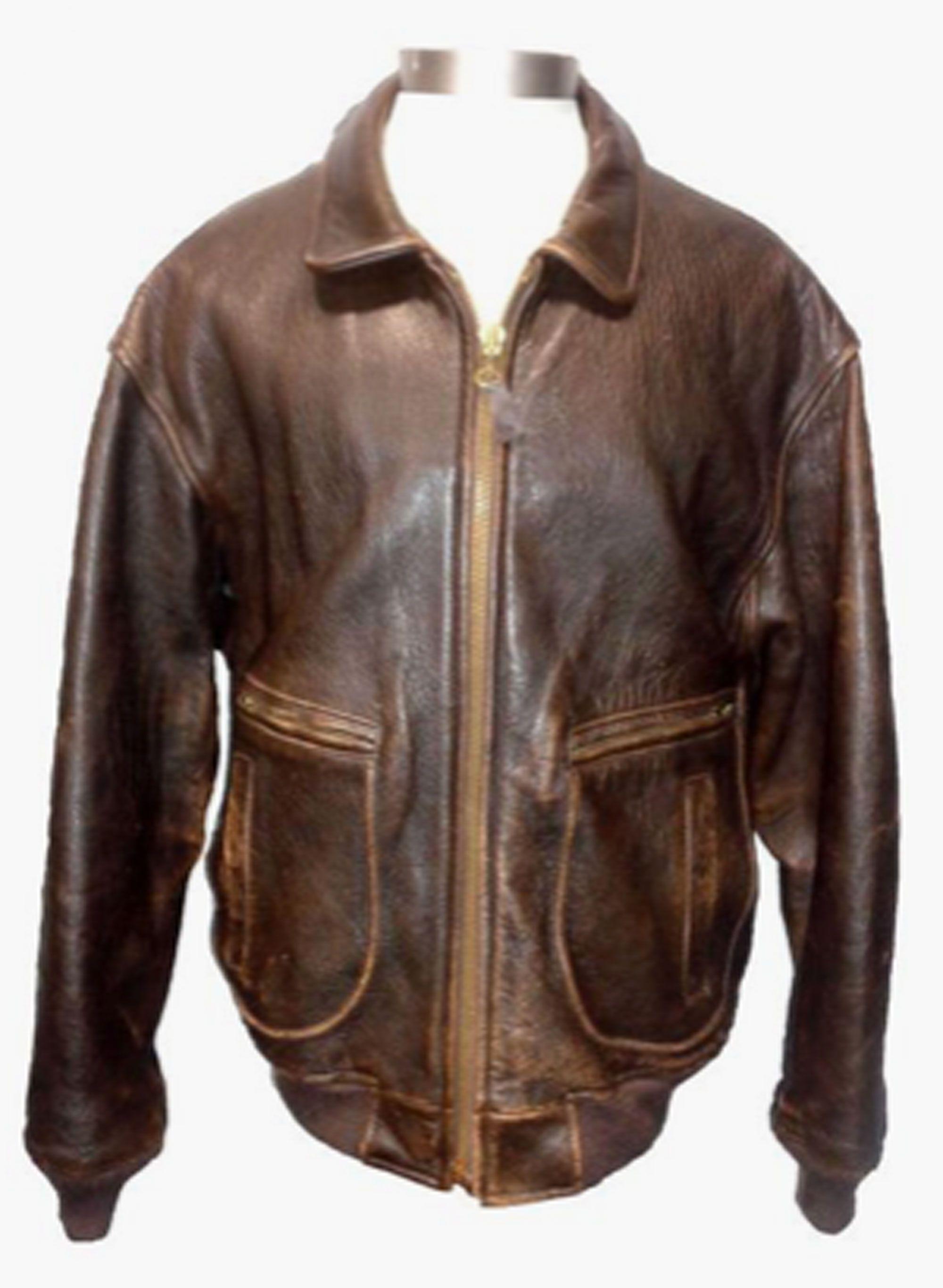 Avirex G 2 Dark Brown Leather Flight Jacket Men S Size L Leather Flight Jacket Brown Leather Bomber Jacket Leather Bomber Jacket [ 2733 x 2000 Pixel ]